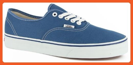 VANS Unisex Authentic Navy Canvas VN000EE3NVY Mens 4.5 7c0bf74c8
