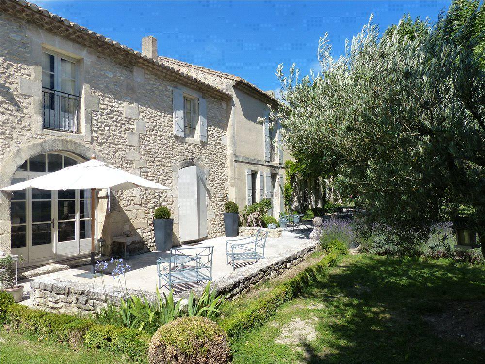 St remy de provence provence south of france maison for Exterieur provencal