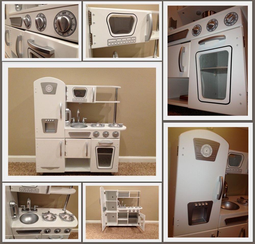 KidKraft White Vintage Kitchen   Kitchen playset   Pinterest ...
