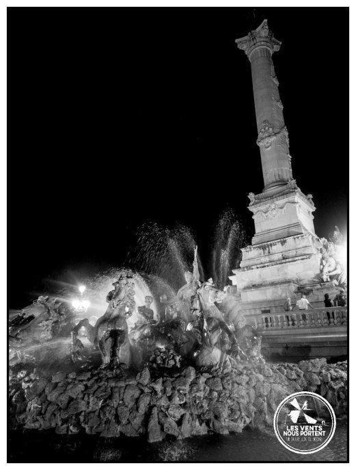 Les chevaux de bronze de la colonne de girondins à #Bordeaux, #France / #BDXLIVE