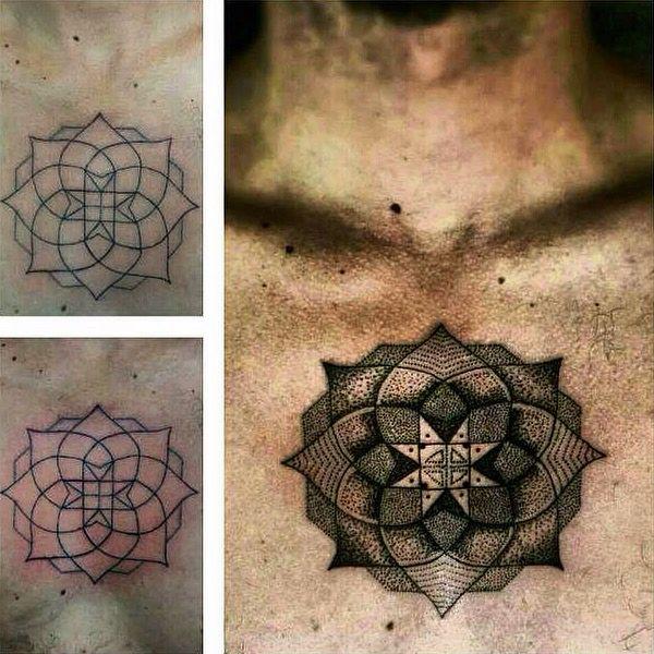 Mandala. #tattoo #pontilhismo #dotwork #dotworkers #dotworkbrasil #blackwork #darkartists #blackworkers #moleskine #myworldofink