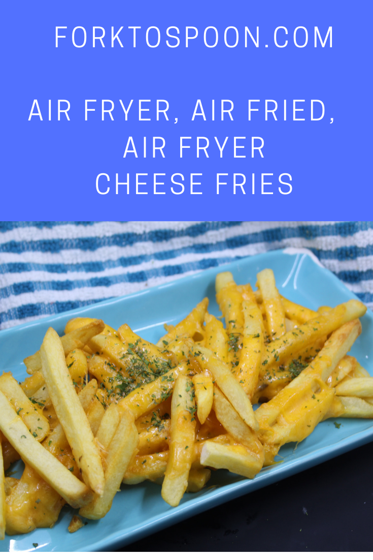 Air Fried, Air Fryer Cheese Fries Recipe (With images