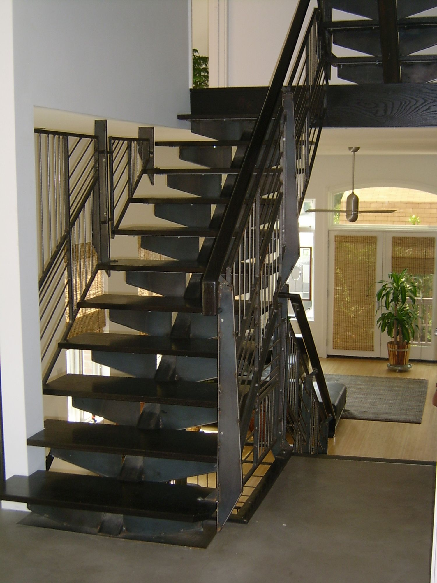Best Franks Staircase Custom Industrial Steel Staircase And 640 x 480