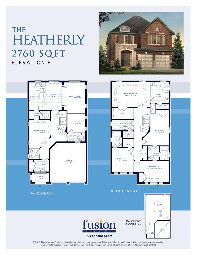 The Heatherly Sunningdale Green Floor Plans House Floor Plans House Plans
