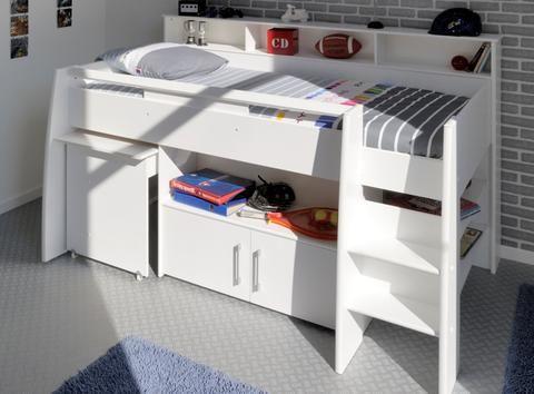 Parisot Swan Boys Mid Sleeper - Childrens Funky Furniture ...