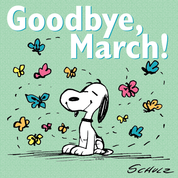 Snoopy, Hello march and Woodstock on Pinterest