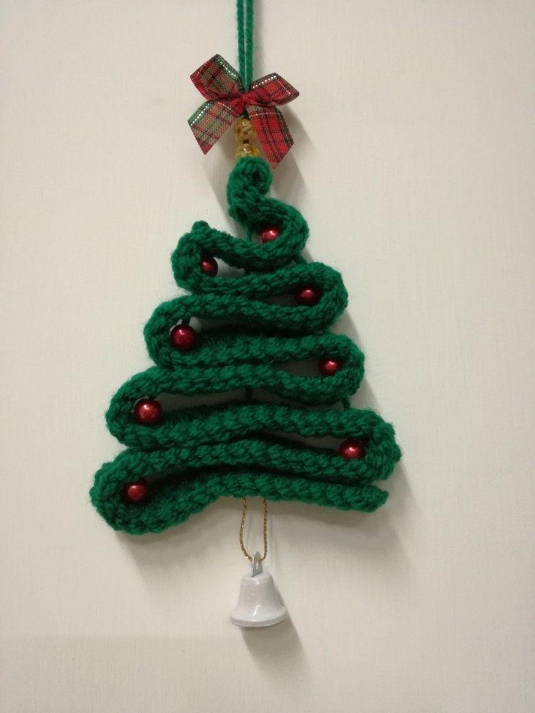 Albero Di Natale Cuore Di Uncinetto Pinterest Alberi Di Natale