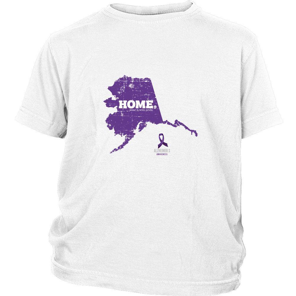 Alaska - Alzheimer's Awareness Youth Home Tee