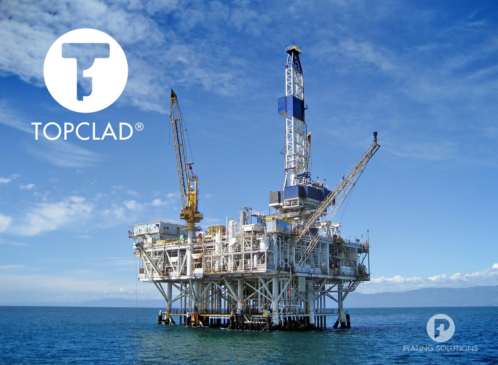 Topclad Plating Solutions Logo Identiteit Oil Rig Jobs Oil Rig Job Shop