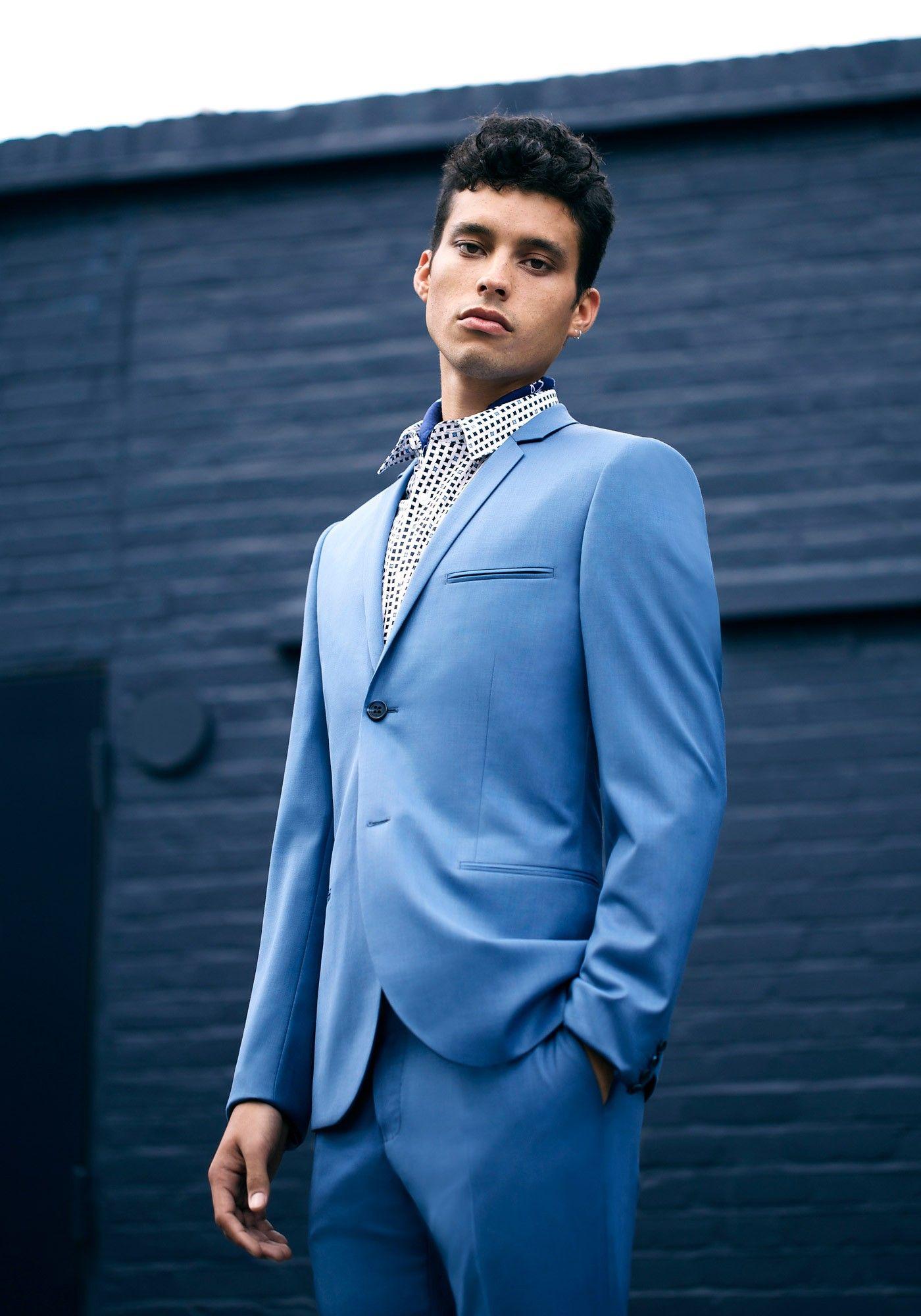 The Blue Trend > http://tpmn.co/1uhoxQr #Blue #Menswear # Topman ...