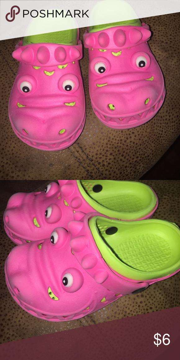 c3c81b21d Kids slip on alligator shoes Off brand crocs. Super cute and comfy! Shoes