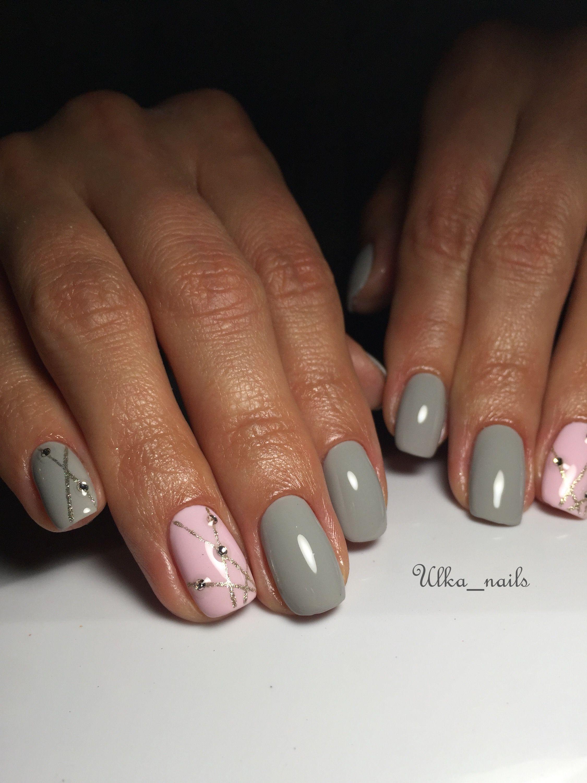 Серый гель лак | Маникюр | Pinterest | Nail color designs, Nail nail ...