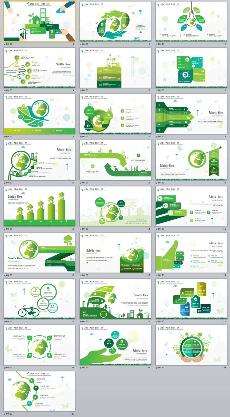 25 green chart slides powerpoint templates infographic design 25 green chart slides powerpoint templates powerpoint templates presentation animation toneelgroepblik Gallery