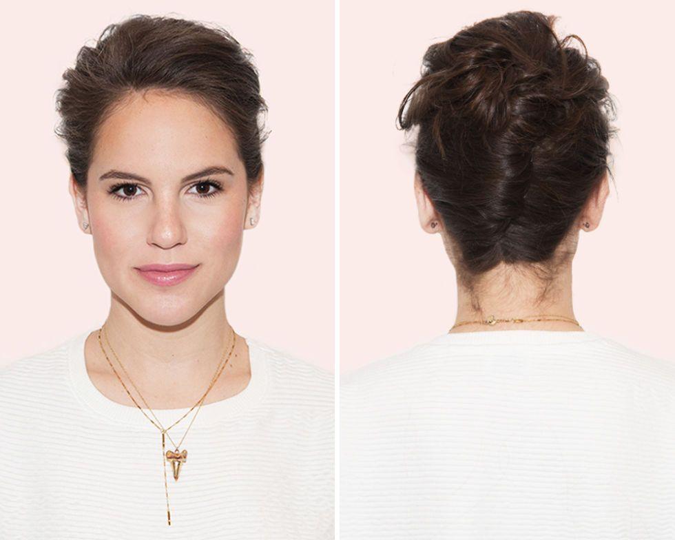 Make a No-Fuss French Twist #hairtips