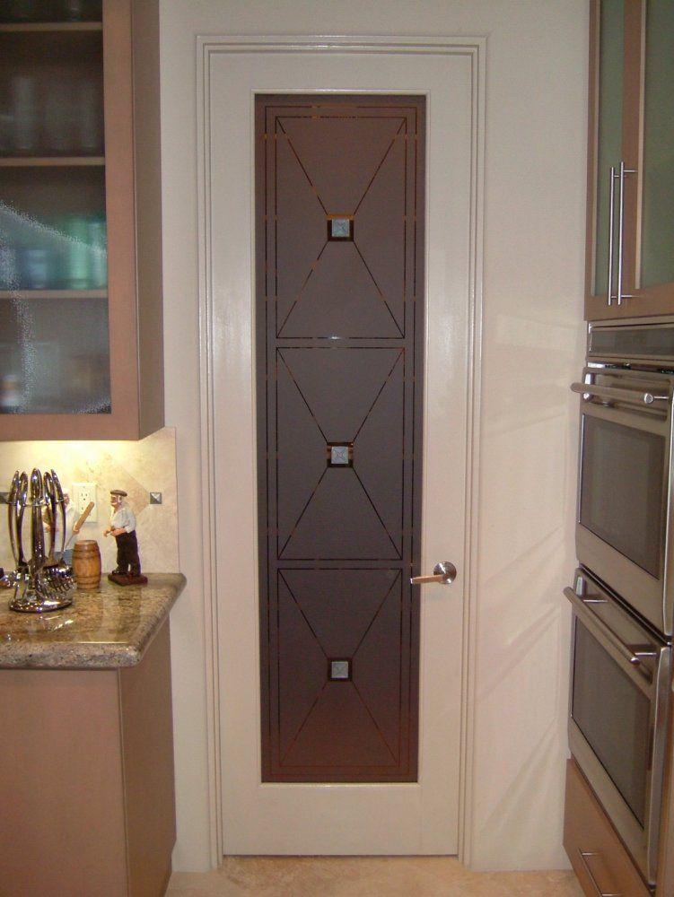 Etched glass pantry doors etched glass pantry door cross for Glass pantry door ideas