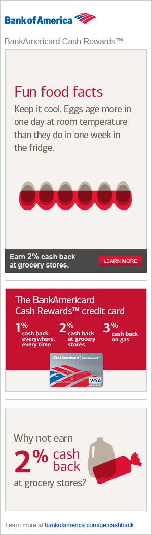 Bank of America advertisement