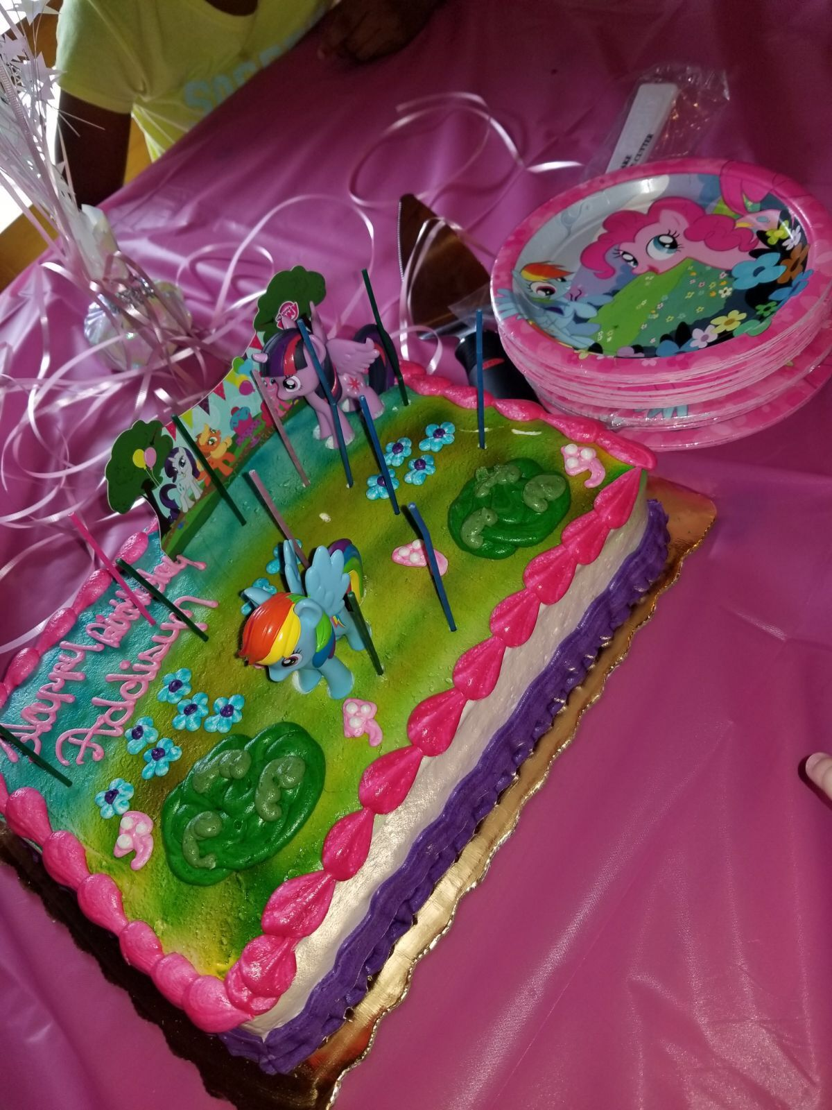 My Little Pony Cake From Publix