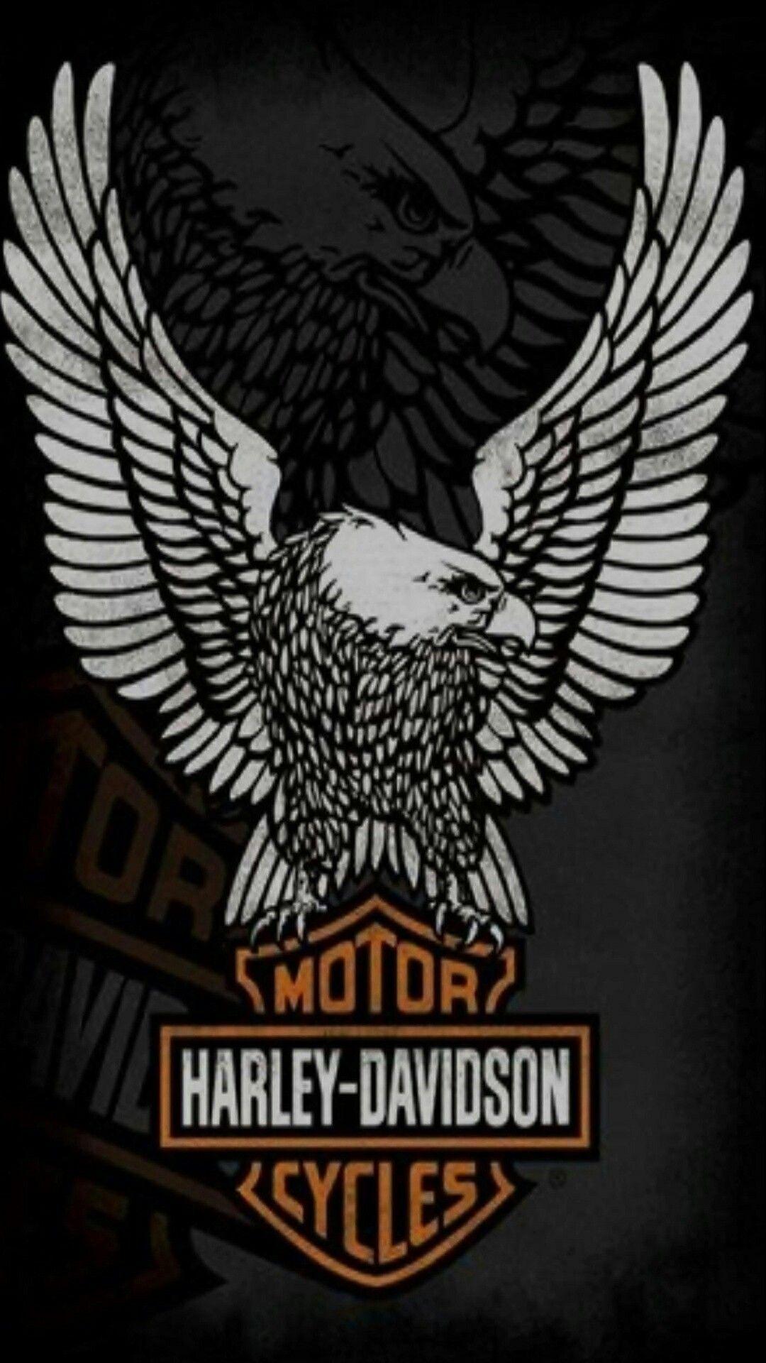Logo Harley Davidson Android Background In 2020 Harley Davidson