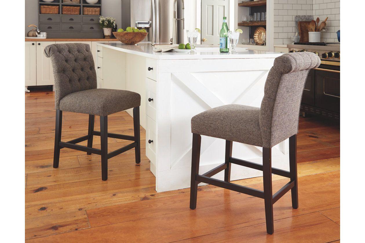 Tripton Counter Height Bar Stool Ashley Furniture Homestore Counter Height Bar Stools Bar Stools Tall Bar Stools