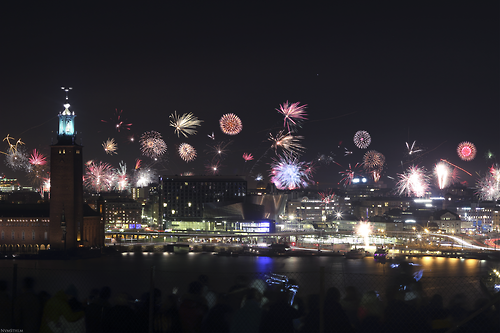 New Year 2014 in Stockholm