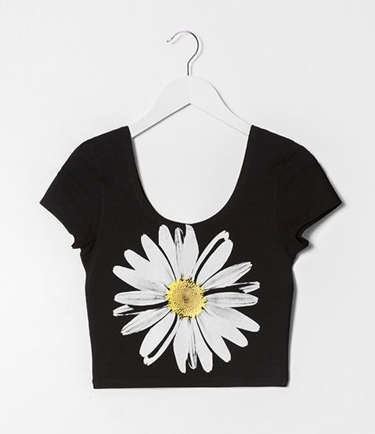 Daisy print crop top #musthave #TALLYWEiJL