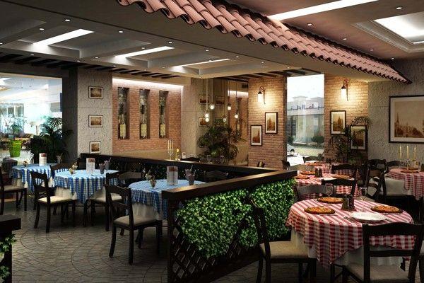 Italian Resto & Pizzeria Design on Behance | restaurant decor ...