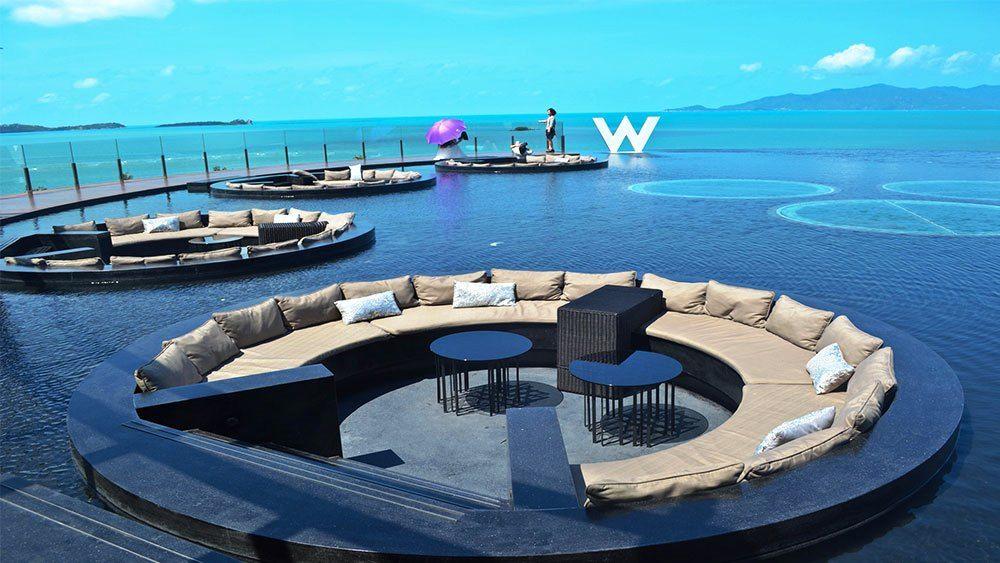 W Retreat Hotel Thailand Beautiful Places Pinterest