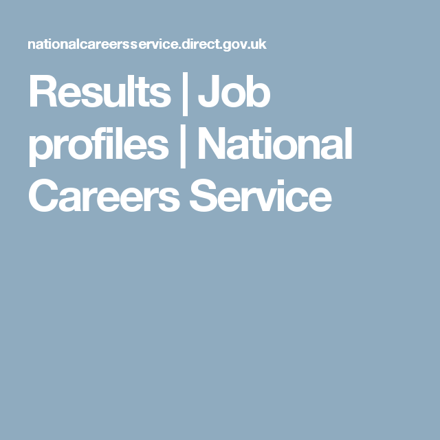 Results Job Profiles National Careers Service Dietitian Jobs Dietitian Career