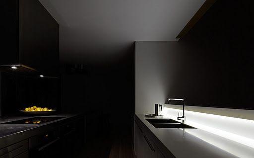 En la intimidad de una cocina.