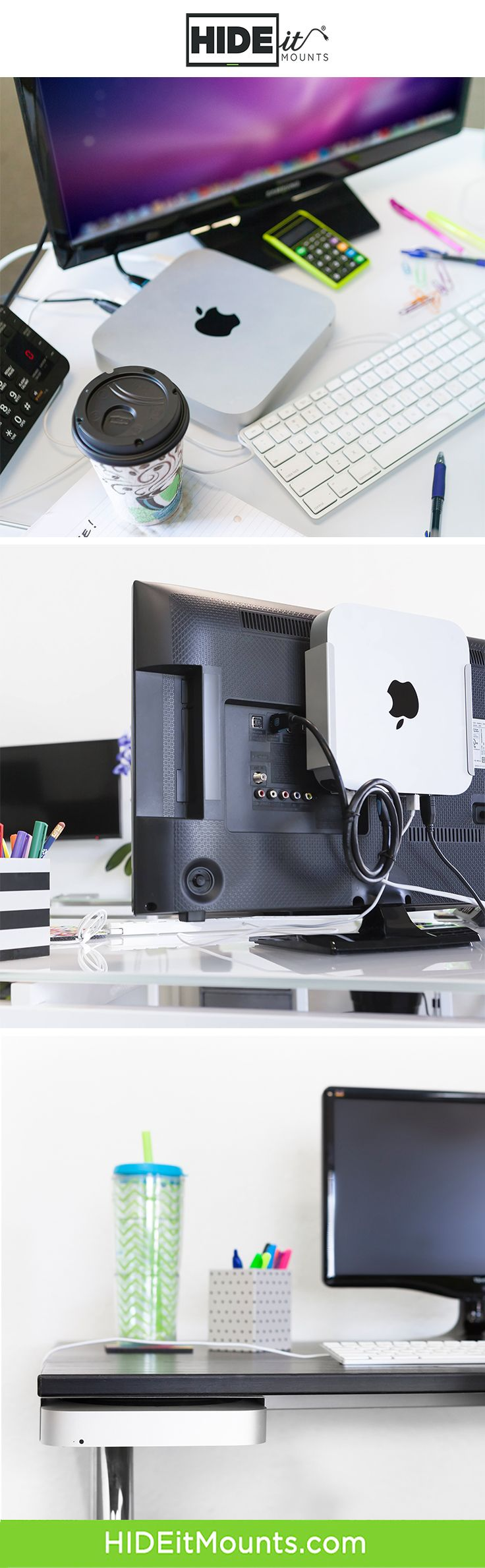 Hideit Miniu Apple Mac Mini Wall Mount Mac Mini Apple Mac Mini New Apple Watch