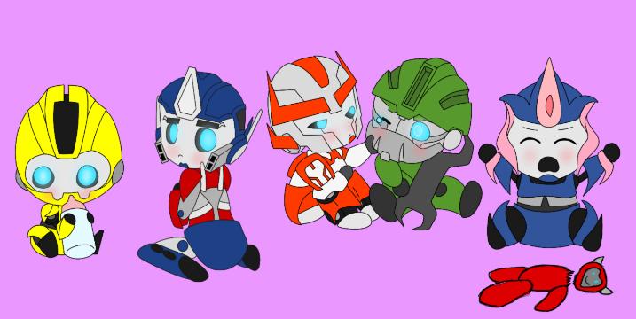 Transformers AUTOBOT PARENT scenarios :b - What The Team Has