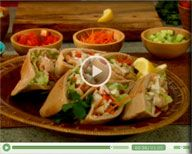 Recipe: Perfect Pitas  Watch Food Network's Melissa d'Arabian prepare a tasty and easy dinner your kids will love.