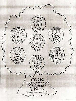 LDS Nursery Color Pages: 25 - I Love My Whole Family | Church Stuff ...