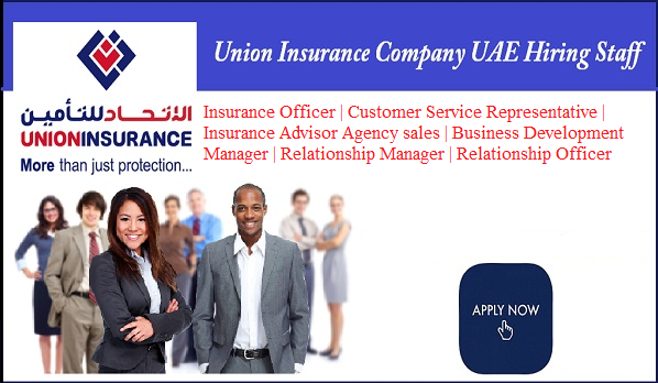 Jobs In Dubai Union Insurance Company Insurance Company
