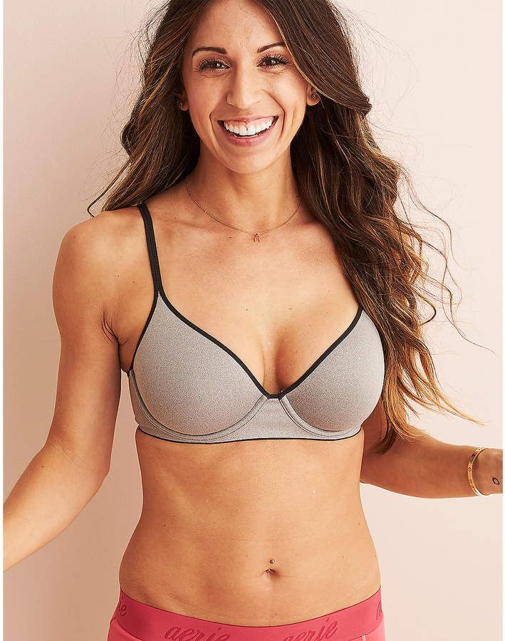3168df99e10c8 Aerie Real Me Full Coverage Unlined Bra