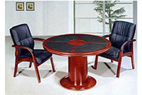Mesas de juntas P-93 15w Mesa redonda de 1.40m, sala de juntas, mobiliario.