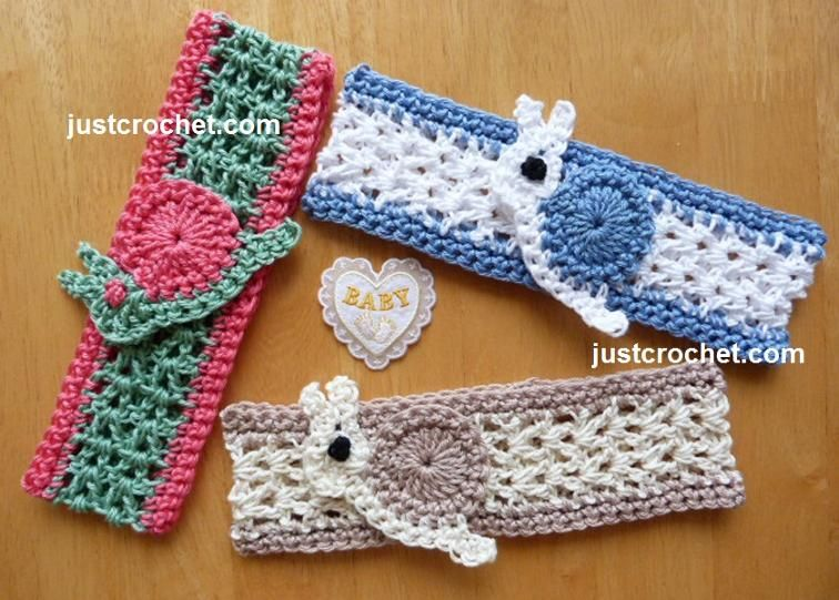 fjc107-Newborn Headband Baby Crochet Pattern | Craftsy free pattern ...