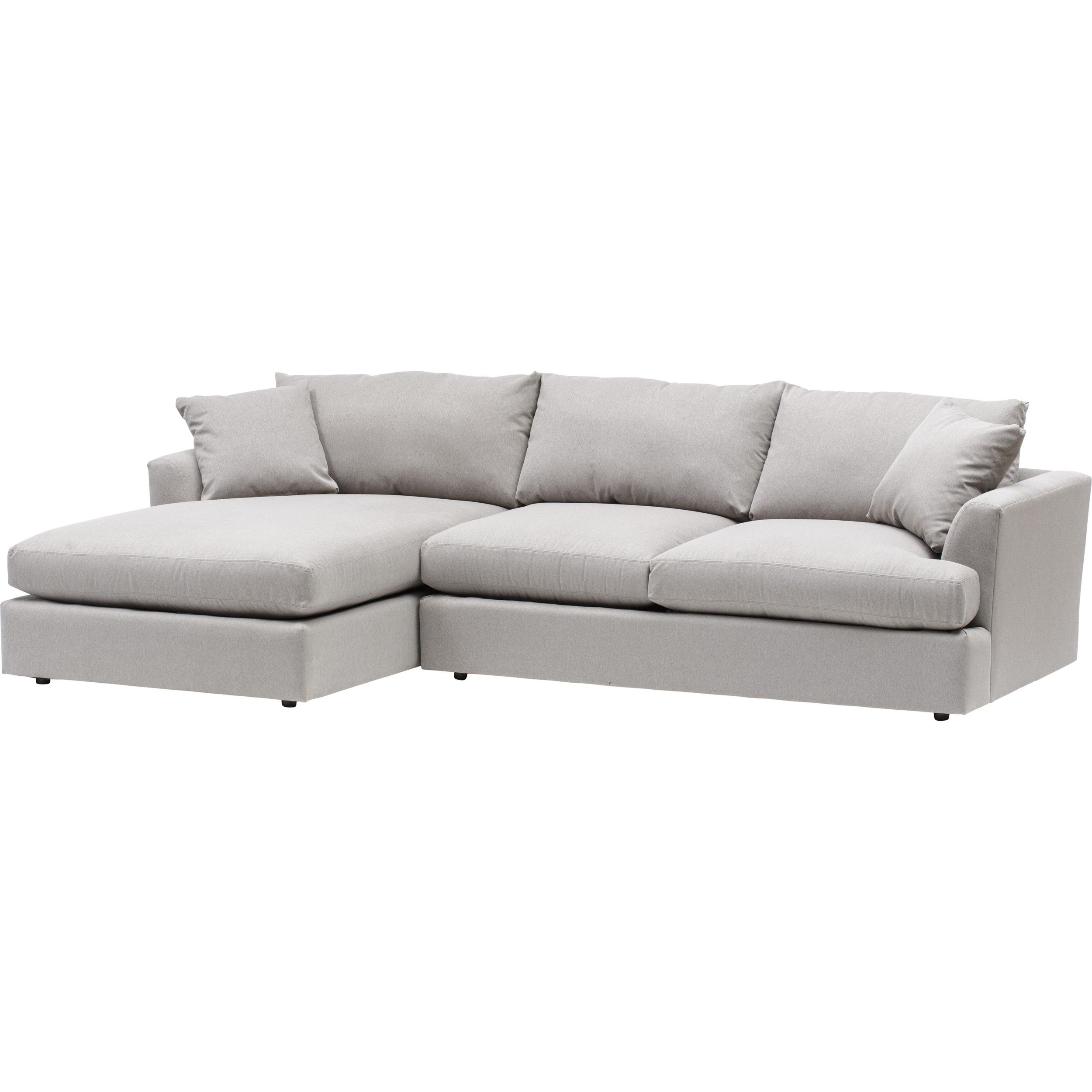 Bon High Fashion Home Andre Sectional, Dawson Cement $2,099.00 I Think This  Would Be Great For Upstairs Playroom.