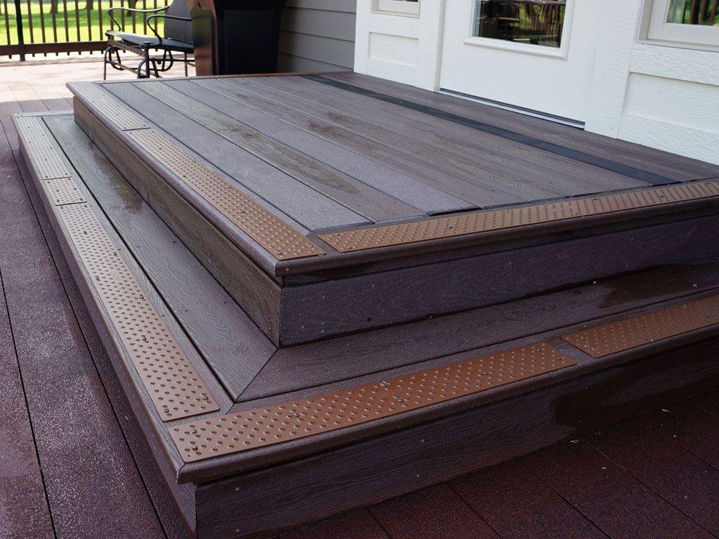 Best Non Slip Stair Treads Handiramp Wood Stairs Outdoor 400 x 300
