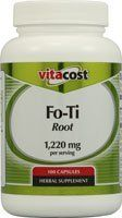 Vitacost Fo-Ti Root -- 1,220 mg per serving - 100 Capsules by Nutraceutical Sciences Institute (NSI). $4.29. What is fo-ti root?Fo-ti (Polygonum multiflorum) is a perennial climbing plant from the knotweed family, native to eastern Asia and grown in China, Japan and Tibet. Its roots are widely used in traditional Chinese medicine for sleep and anti-aging tonics. Fo-ti is called He Shou Wu in Chinese, which translates to black haired Mr. He. Legend has it that an old villa...