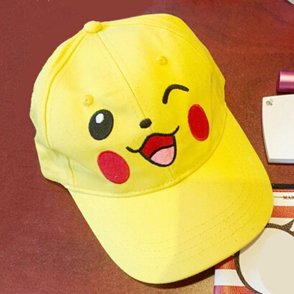 yellow sports caps baseball cap uk toddler pocket monster girls embroidered