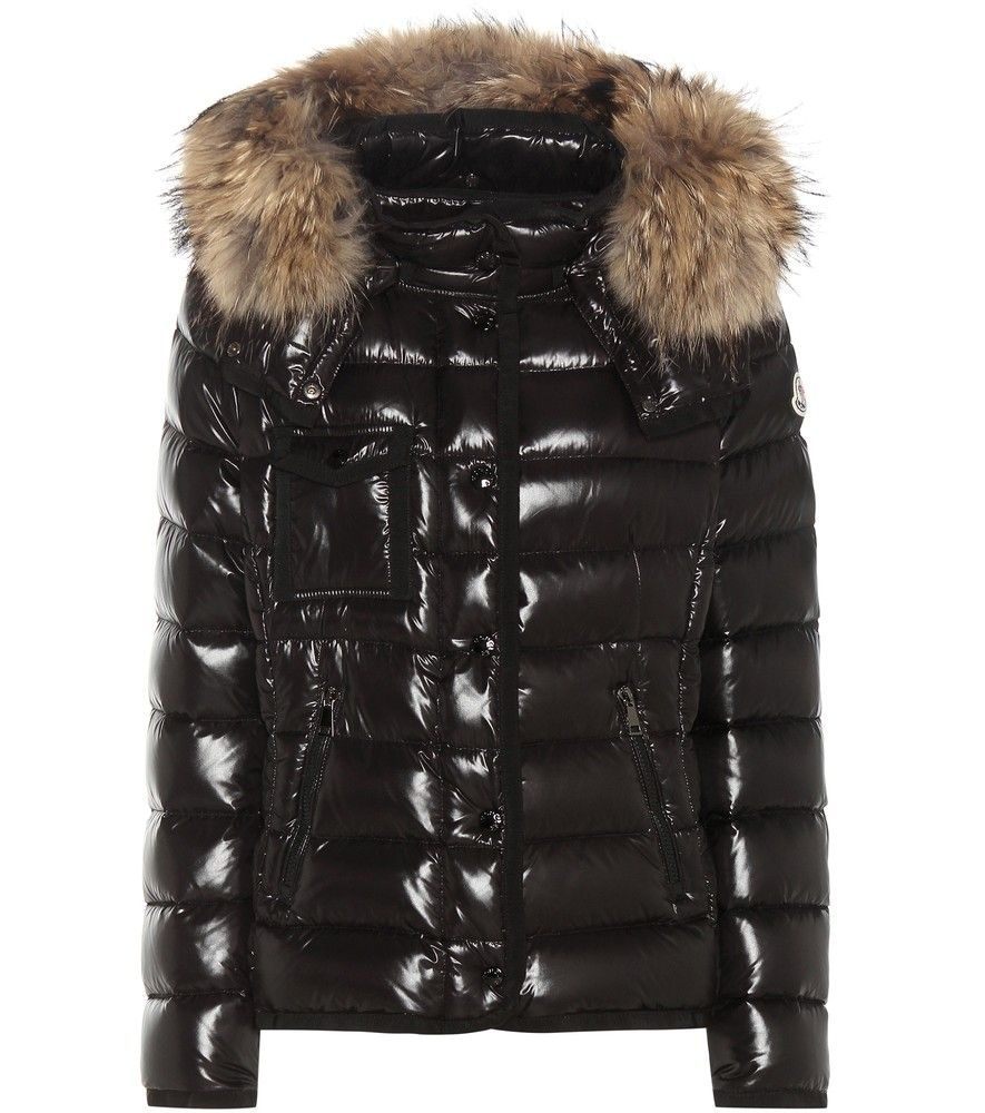 8a77e21ce Moncler - Armoise down jacket with fur-trimmed hood - Crafted from ...