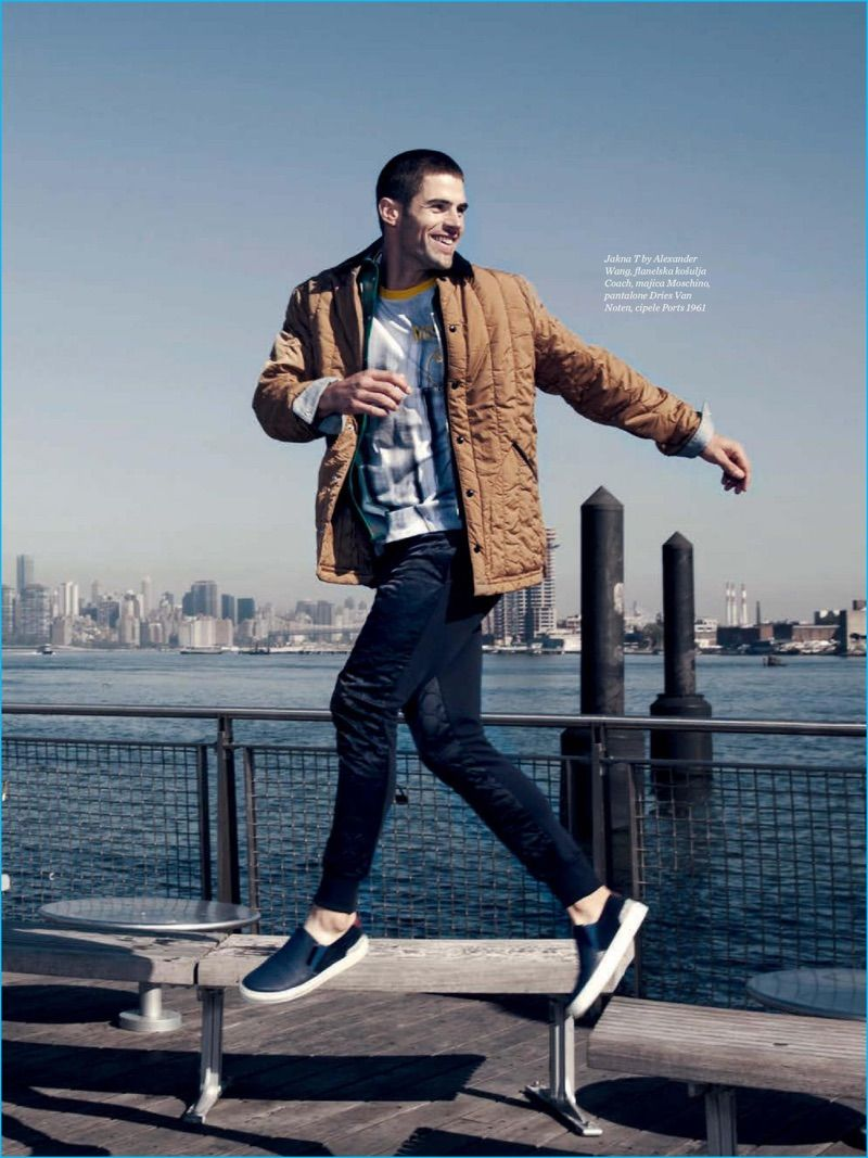 Flannel lookbook men  Chad White Covers Menus Health Serbia Takes to Brooklyn for Fashion