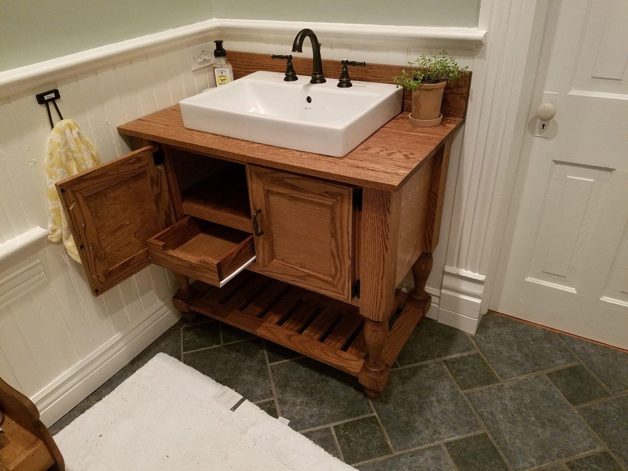 Diy Bathroom Vanity Wooden Bathroom Vanity Diy Bathroom Vanity Bathroom Vanity [ 1642 x 2190 Pixel ]