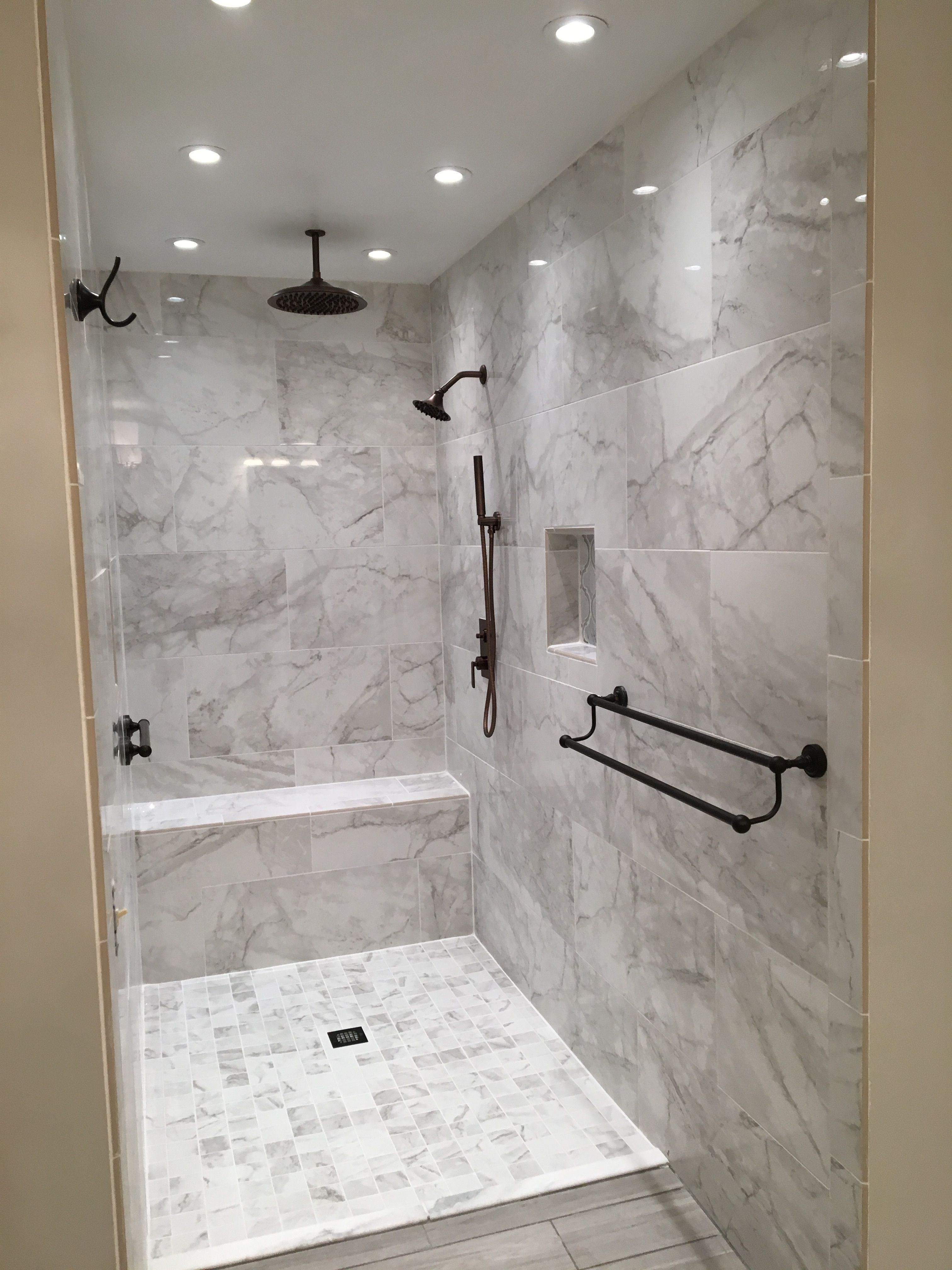I Want The Seat In My Shower In 2020 Modern Bathroom Tile