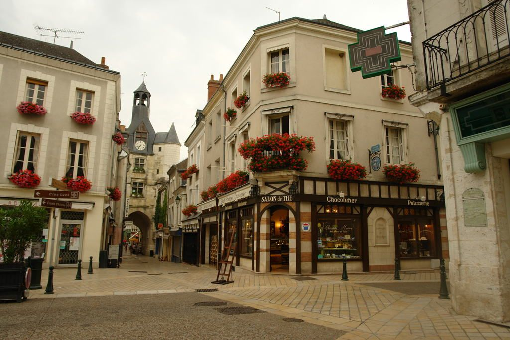 Chocolaterie Bigot in the center of Amboise, France