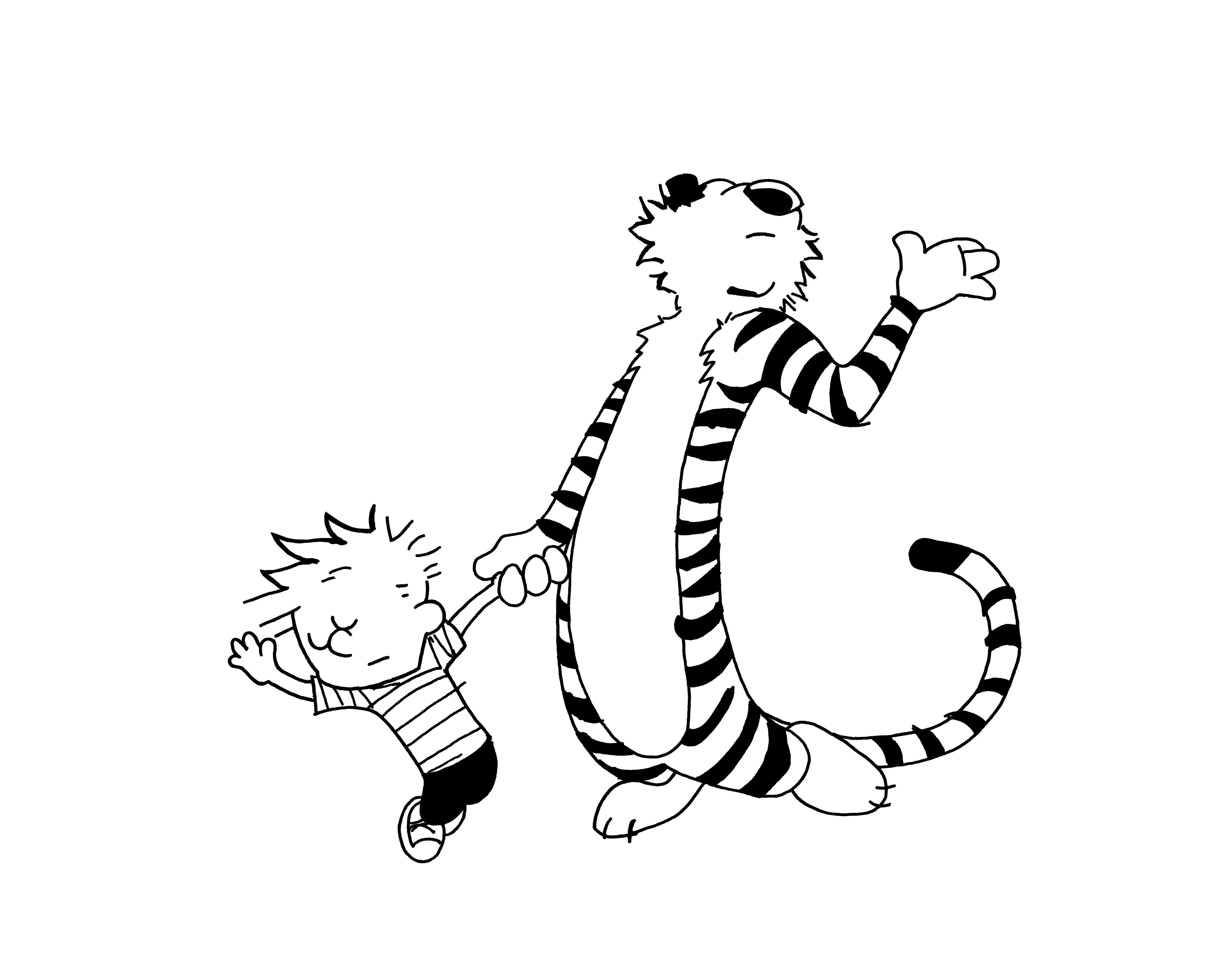 calvin and hobbes coloring pages calvin hobbes Colouring Pages | BODY ART | Calvin, hobbes  calvin and hobbes coloring pages