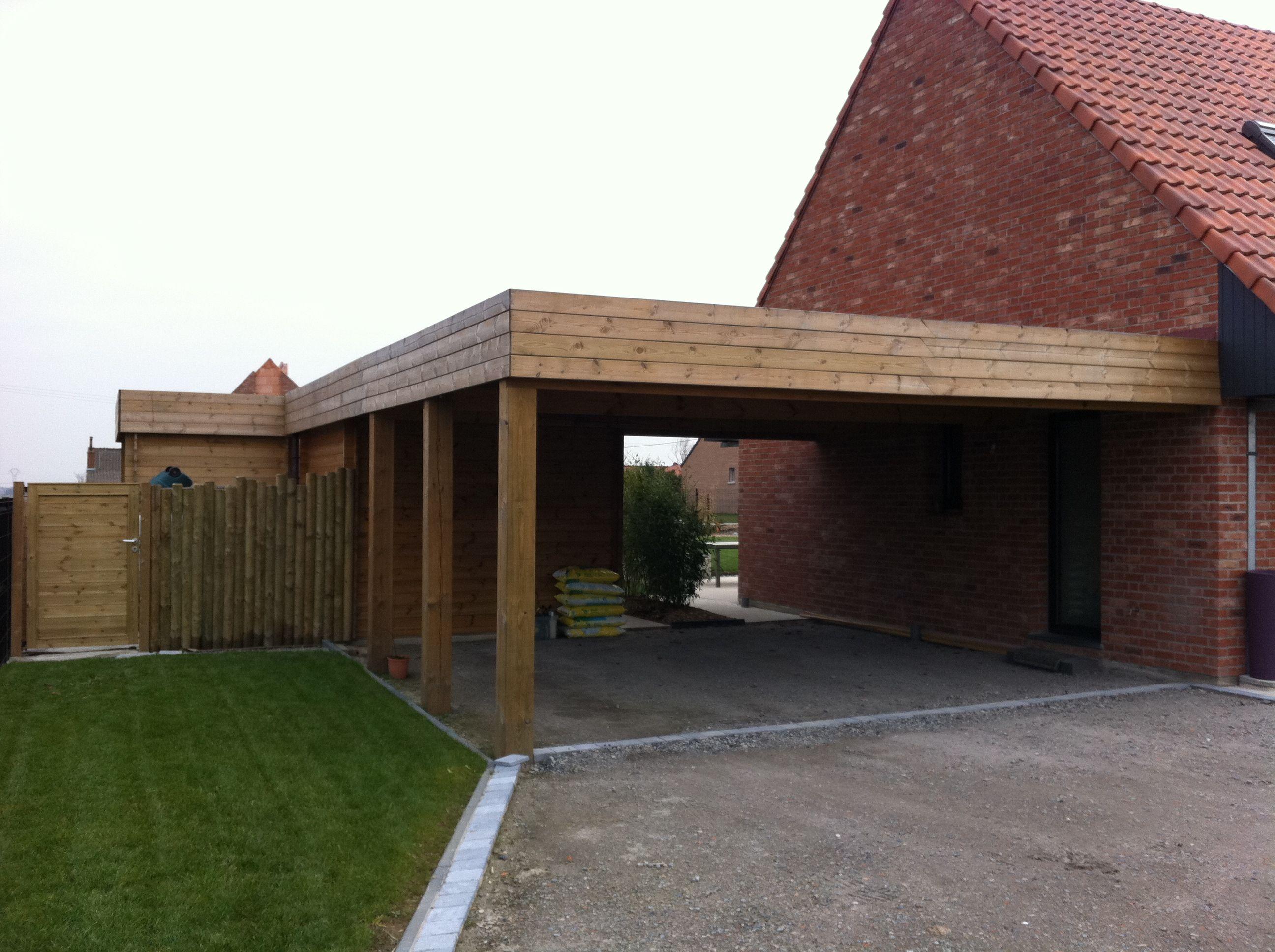 Moderne carports in hout Bogarden Carport Pinterest