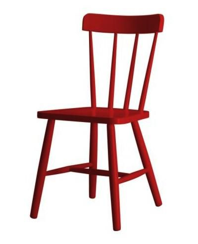 uk availability 76232 5499e 10 Easy Pieces: Red Dining Chairs | scarlet | Red dining ...