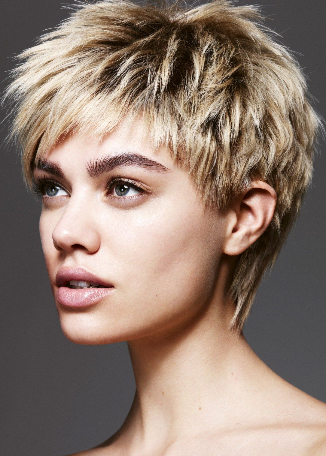 textured short hairstyles 7 | short arguably hair | short